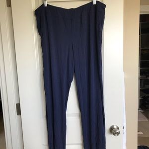 Soma Sleep Lounge Pants Navy Size XXL/2X